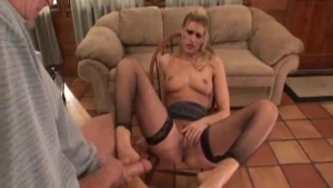 Horny ladies are moaning from pleasure, while their partners are licking their perfectly shaved pussies