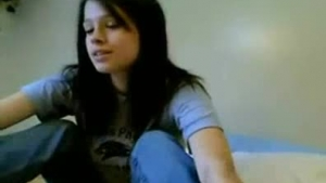 Dark haired girl likes the way her best friend is fucking her at least once a day